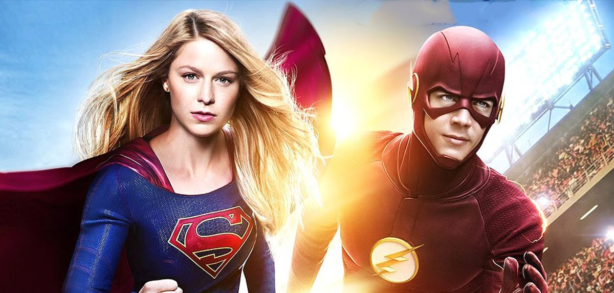 Rozśpiewani Flash i Supergirl