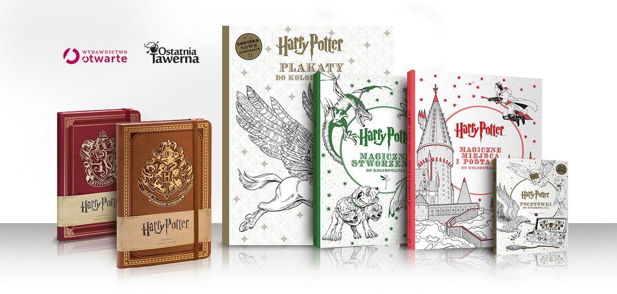 Pokoloruj świat Harryego Pottera Super Konkurs
