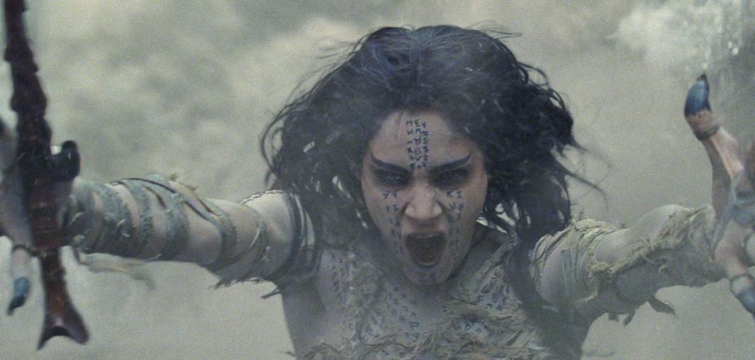 Księżniczka Ahmanet w nowych klipach
