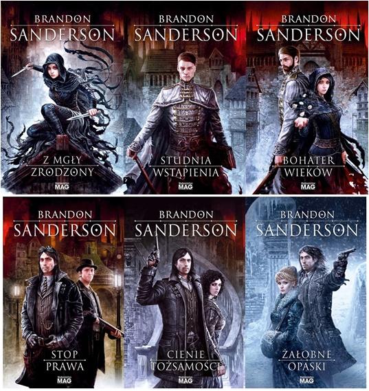 Brandon Sanderson - seria książek