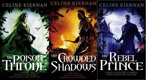 Trylogia Moorehawke - Celine Kiernan - długie fantasy na wakacje