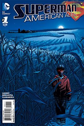 Max Landis American Alien - komiksy o Supermanie od czego zacząć DC Comics