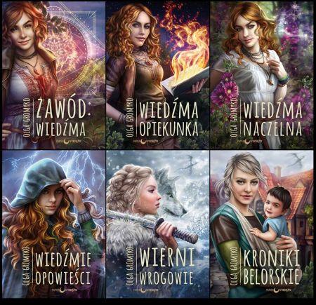 Cykl Olga Gromyko - Kroniki Belorskie na wakacje - fantasy