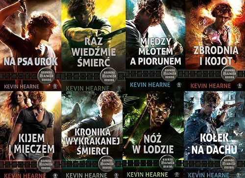 Kroniki Żelaznego Druida - cykl książek fantasy
