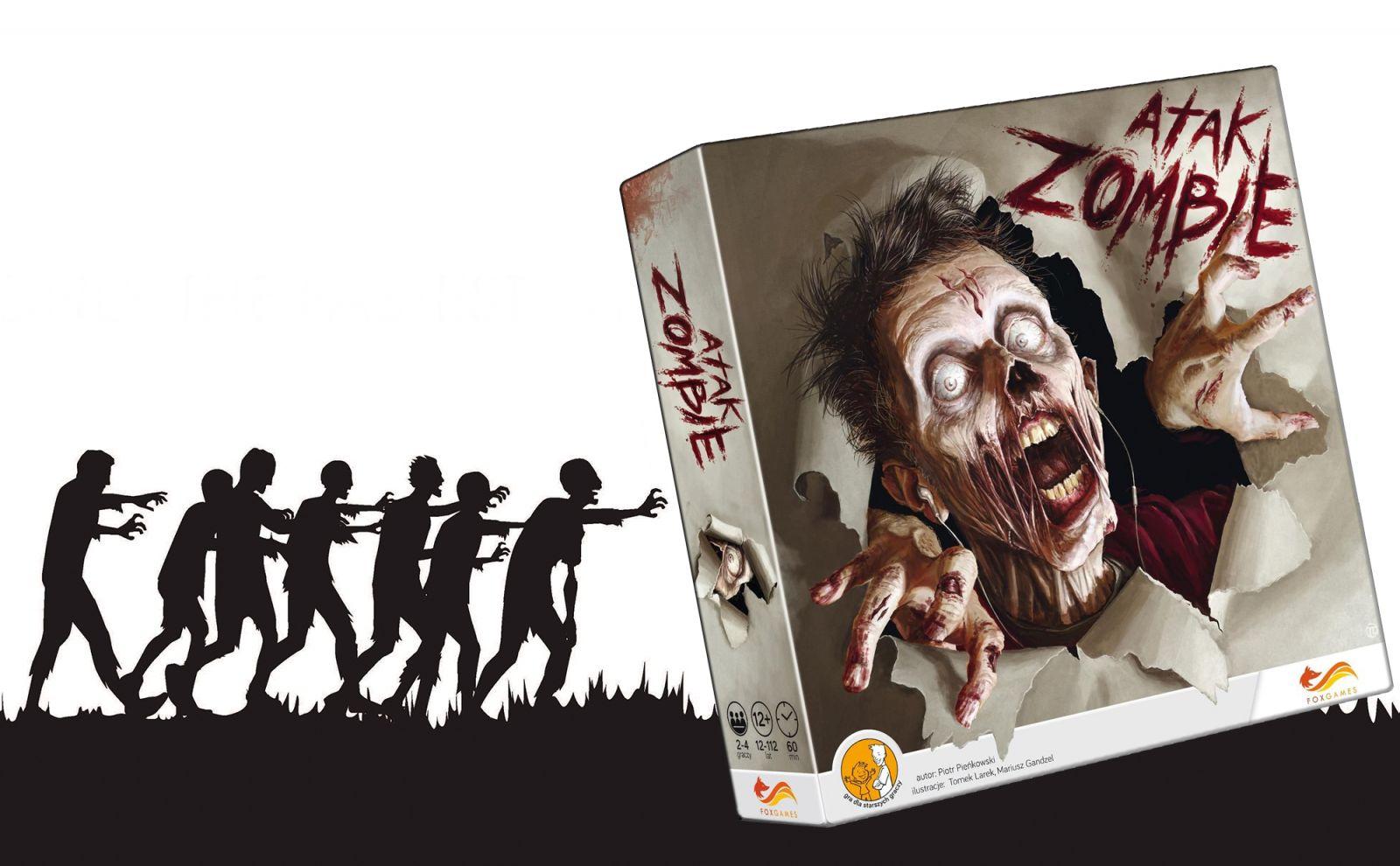 """""""Atak zombie"""" – recenzja gry planszowej"""