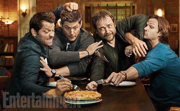 "Ostatni dzień na planie serialu ""Supernatural"""
