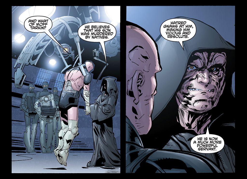"""""""Darth Vader i zaginiony oddział"""" - kadr z komiksu"""