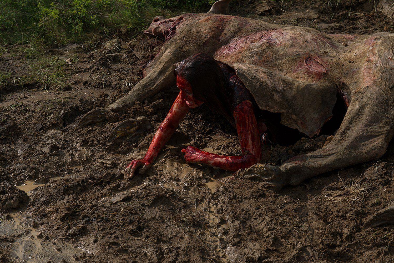 """""""Leatherface"""" - kadr z filmu"""