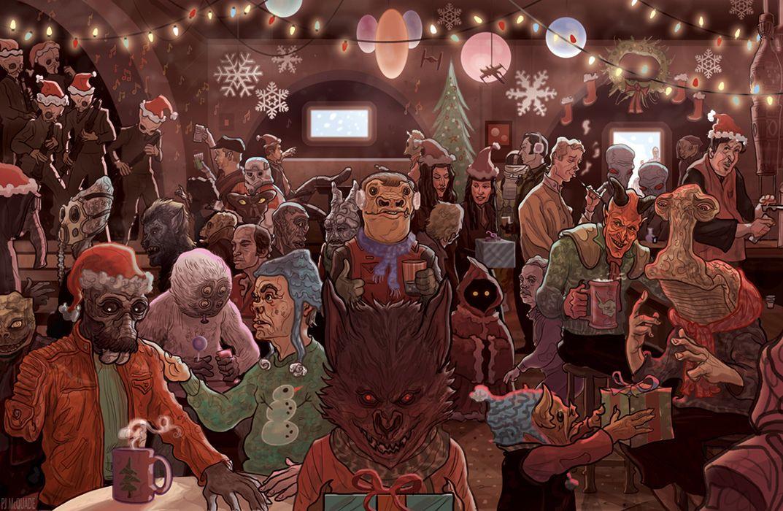 Horror Weihnachtsbilder.Czego Nauczyły Mnie Gwiezdne Wojny Ostatnia Tawerna