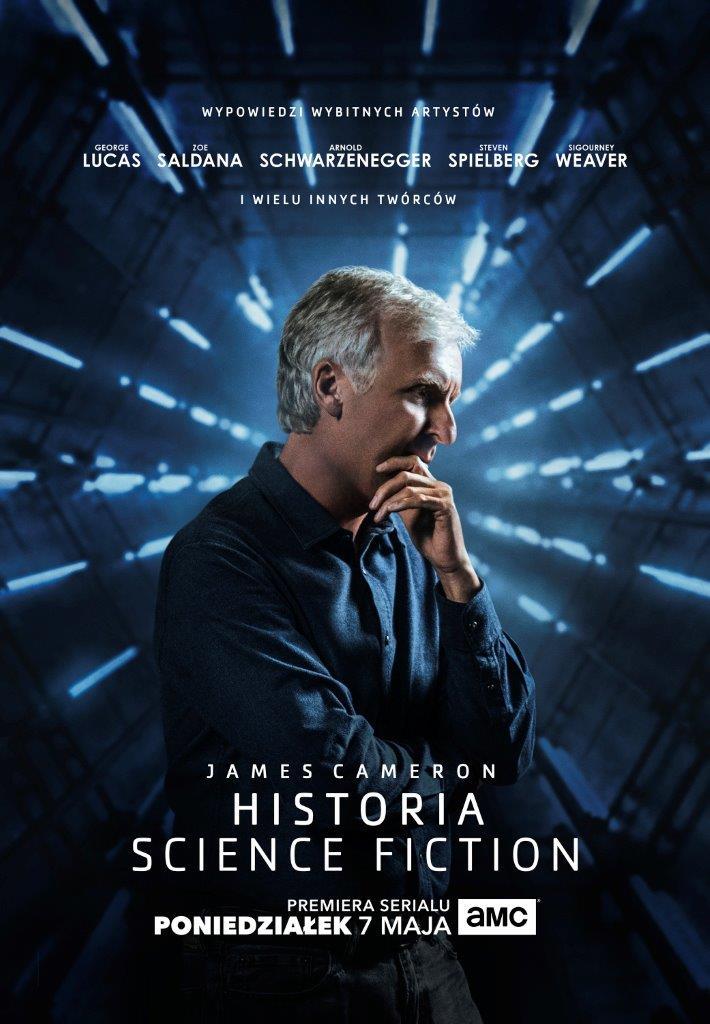 James Cameron historia science fiction AMC_oficjalna grafika