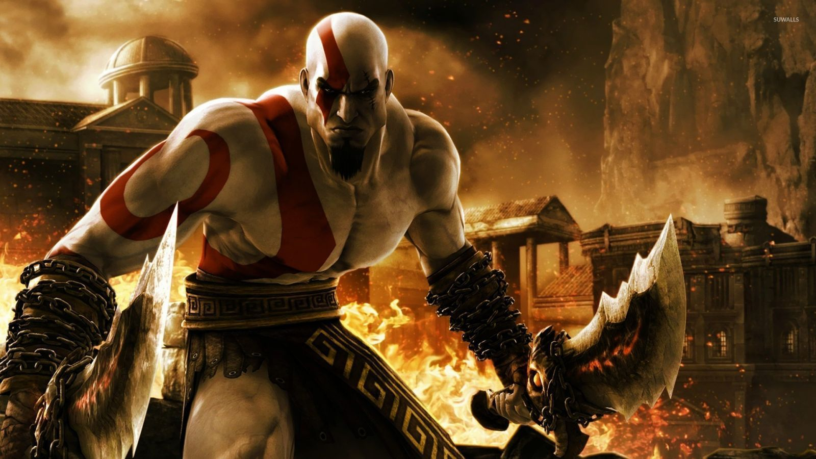 God Of War 3 Kratos Wallpaper For Iphone Number 80b