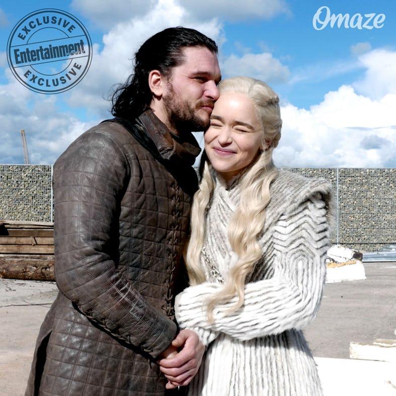 Kit-Harington-as-Jon-Snow-and-Emilia-Clarke-as-Daenerys