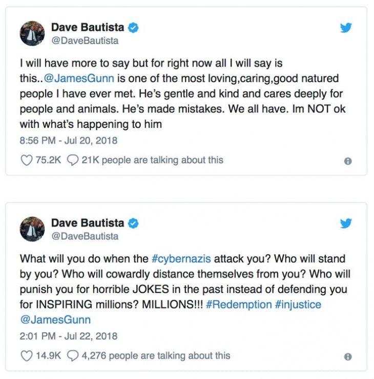 Dave-Bautista-James-Gunn-tweet