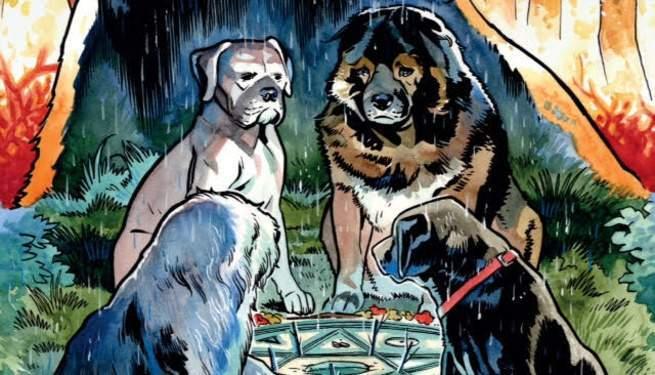 """""""Beasts of Burden:Wise Dogs & Eldritch Men #1"""" - Dark Horse Comics"""