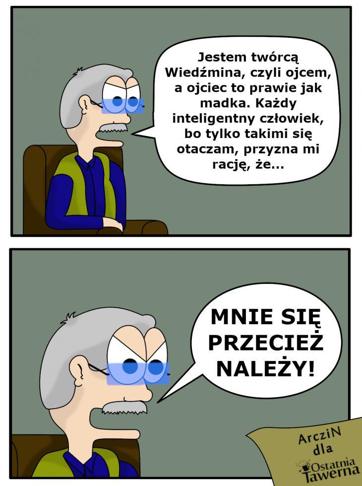 Chytry Sapkowski