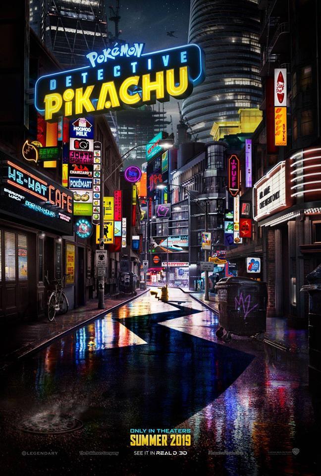 Detektyw Pikachu plakat