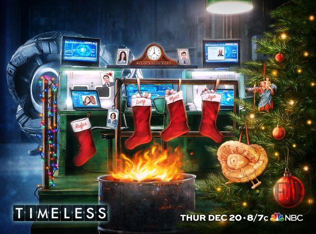 Timeless, świąteczny
