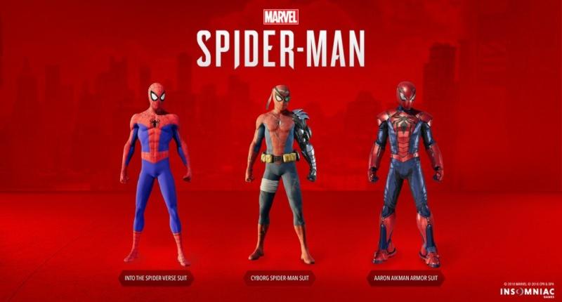 Spider-Man skiny