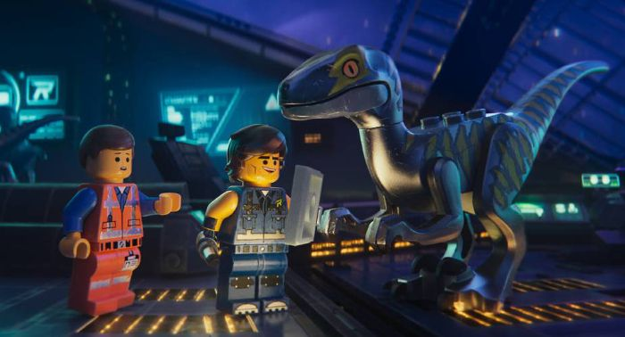 LEGO 2 Movie raptor
