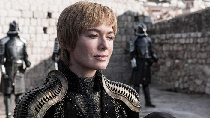 Cersei Lannister na zamku - sezon 8