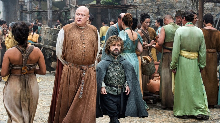 Lord Varys i Tyrion Lannister