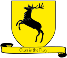 A_Song_of_Ice_and_Fire_arms_of_House_Baratheon_yellow_scroll_English