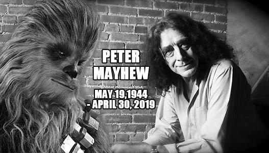 Peter Mayhew, aktor grający Chewbaccę, zmarł w wieku 74 lat