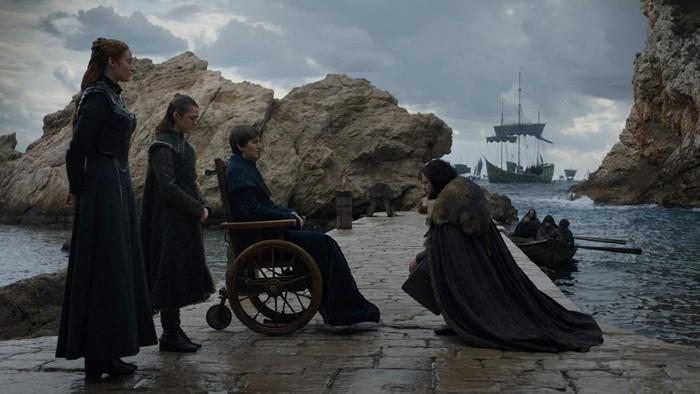 Starkowie, gra o tron sezon 8