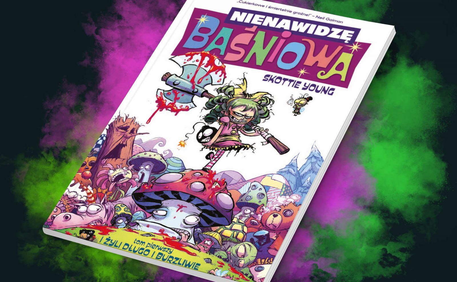 """Za stary na to jestem – recenzja komiksu """"Nienawidzę Baśniowa"""" t. 1"""