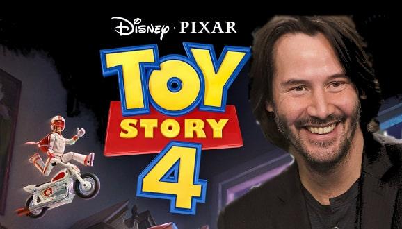 """Nowy zwiastun """"Toy Story 4″ ukazuje nową postać – Duke'a Caboom z głosem Keanu Reevesa"""