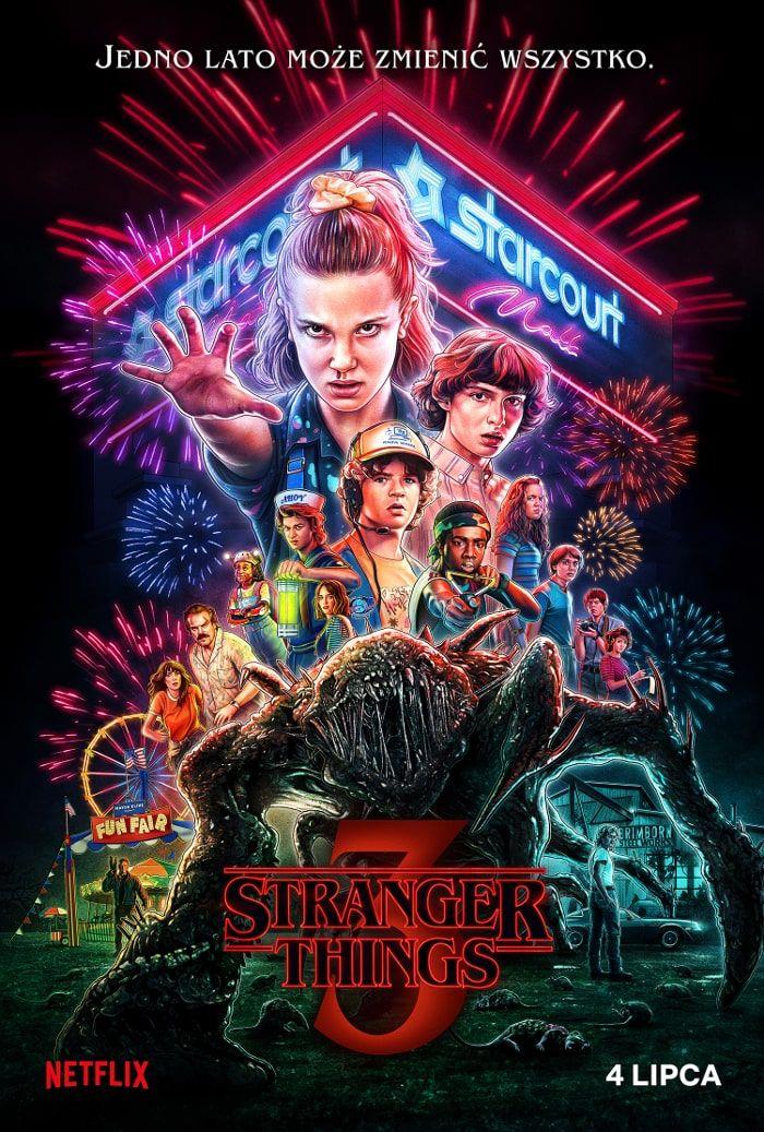Stranger things 3 plakat poster