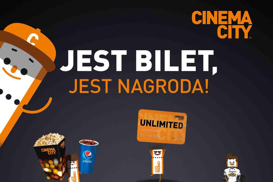 Ruszył wakacyjny konkurs Cinema City – Jest bilet, jest nagroda!