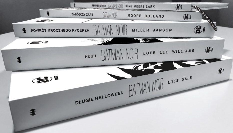 """""""Batman Noir"""" – nowa kolekcja Egmontu"""