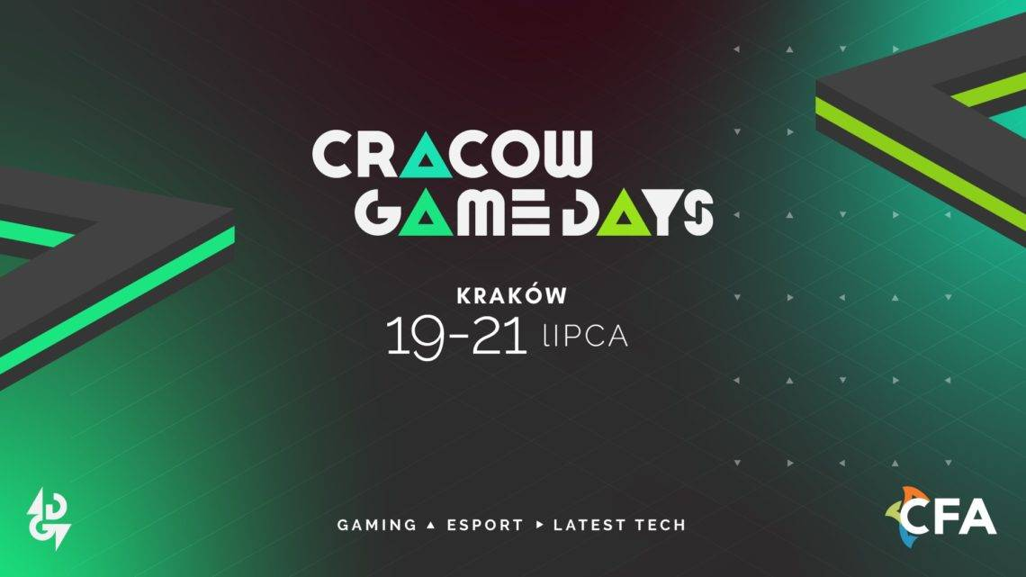 Cracow Game Days 2019 – już w ten weekend!