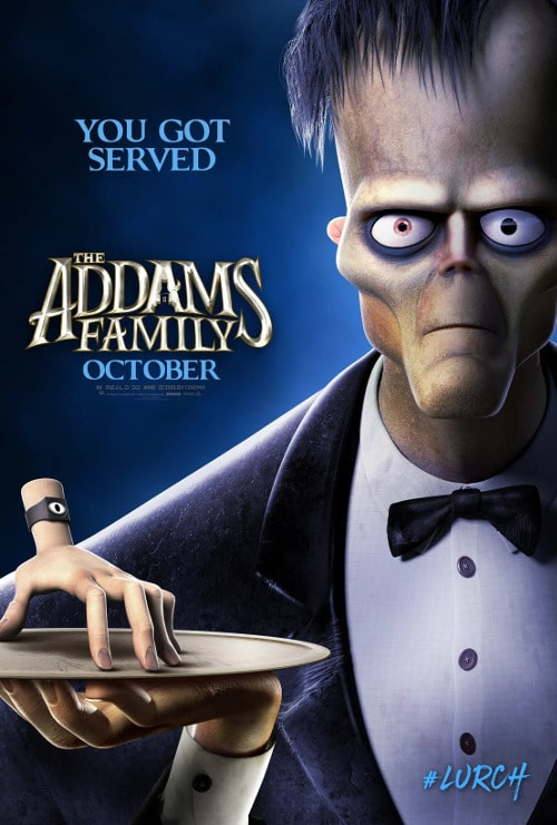 Rodzina Addamsów plakat mem Lurch