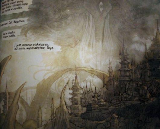 """Monstressa"" tom 3 – fragment komiksu"