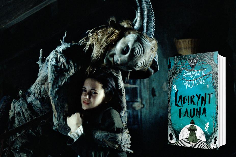 """[ZAKOŃCZONY] KONKURS: zdobądź powieść """"Labirynt Fauna"""" Cornelii Funke i Guillermo del Toro"""