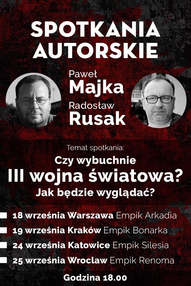Czerwone Żniwa, Paweł Majka i Radosław Rusak - spotkania autorskie