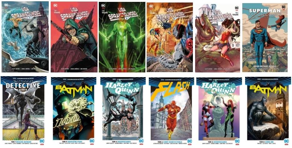 Polscy artyści rysują bohaterów DC Comics