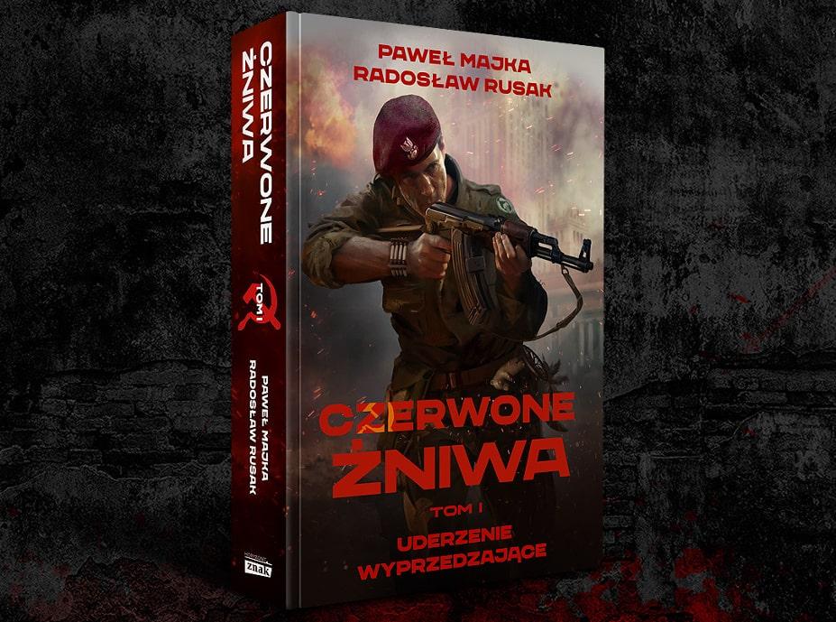 """Premiera książki """"Czerwone żniwa"""" już dziś!"""