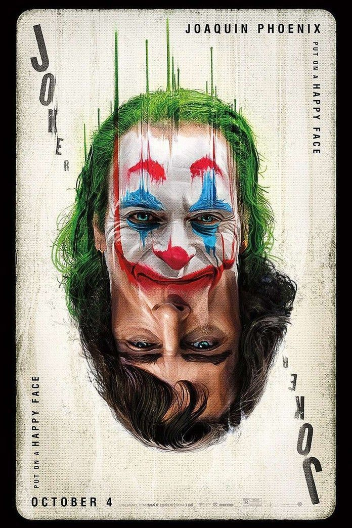 Joker 2019 put on a happy face poster