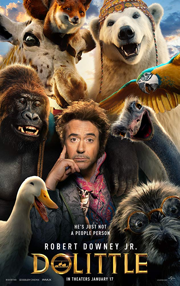 Robert Downey Jr jako Doctor Dolittle