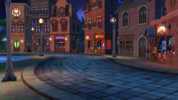 Sims_Kraina_Magii_Miasto