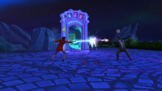 Sims_Kraina_Magii_Pojedynek