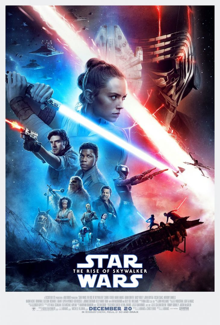 Gwiezdne wojny 9: Skywalker. Odrodzenie finalny plakat