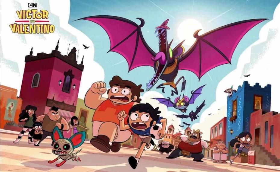 """Mity, legendy i niespotykane zjawiska w nowym serialu Cartoon Network """"Victor i Valentino"""""""