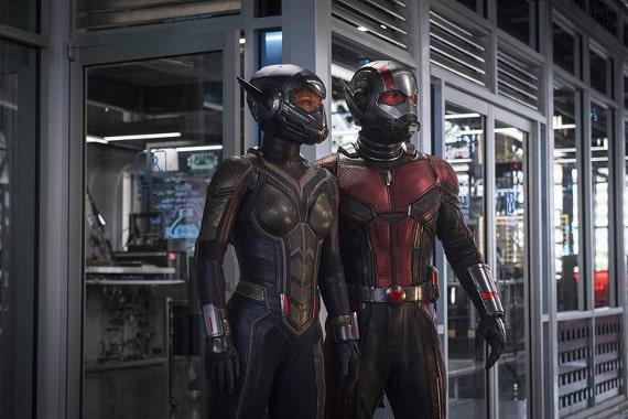 Ant-Man i Osa w laboratorium