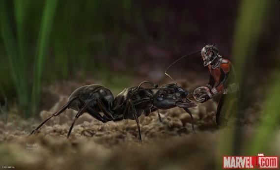 Ant-Man poi mrówkę kroplą wody