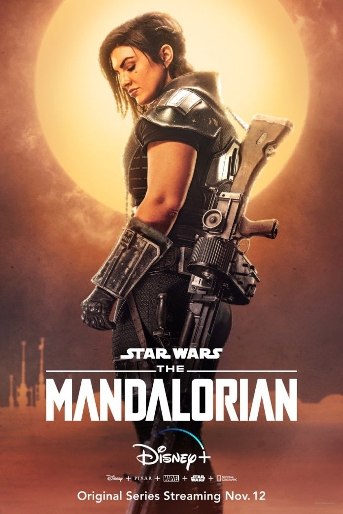 Star Wars: The Mandalorian - Cara Dune plakat
