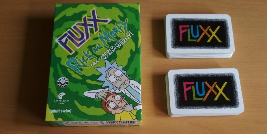 """Pamiętaj, jest tylko jedna zasada… – recenzja gry """"Fluxx: Rick and Morty"""""""